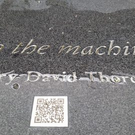 Henry DAvid ThoReau: An Augmented Reality Critique
